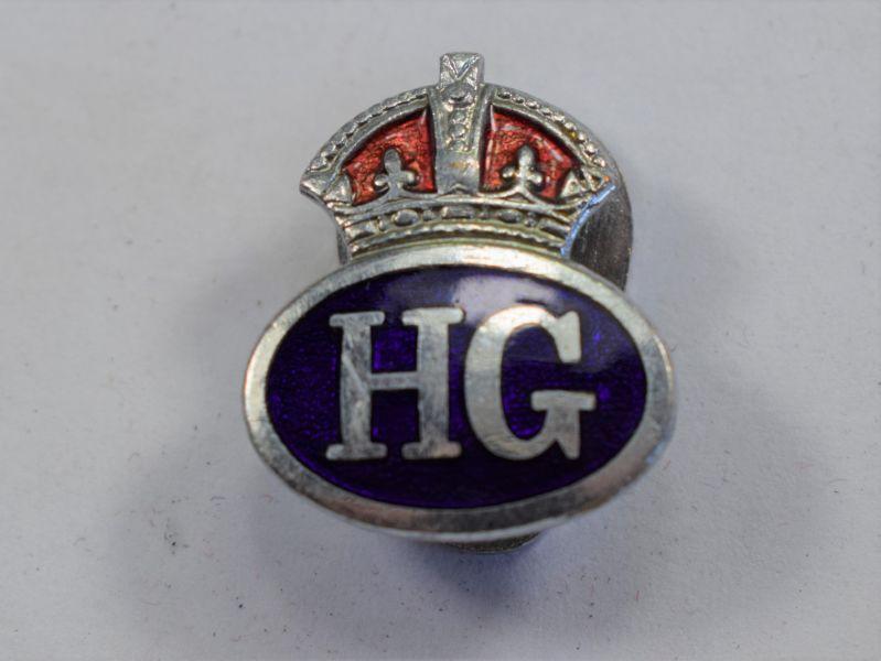 V) Excellent WW2 Home Guard Mans Lapel Badge