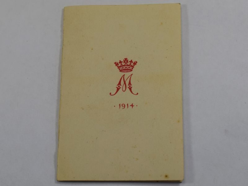 63) Good Original Princess Mary Gift Fund 1914 Christmas Card