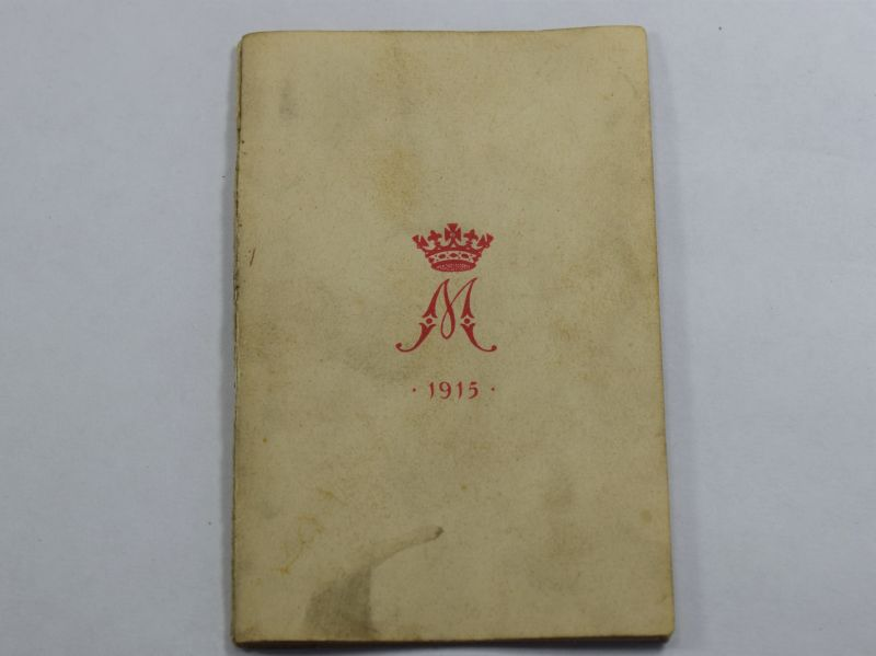 64) Good Original Princess Mary Gift Fund 1914 New Year Card