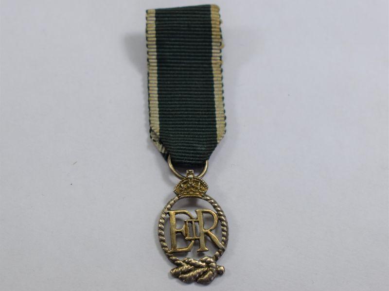 70) Original Royal New Zealand Naval Reserve Miniature Medal