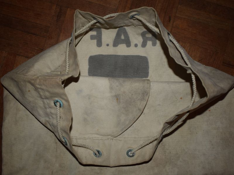 WW2 Era RAF Airmans Kit Bag 3133548 Cpl Hill RAF