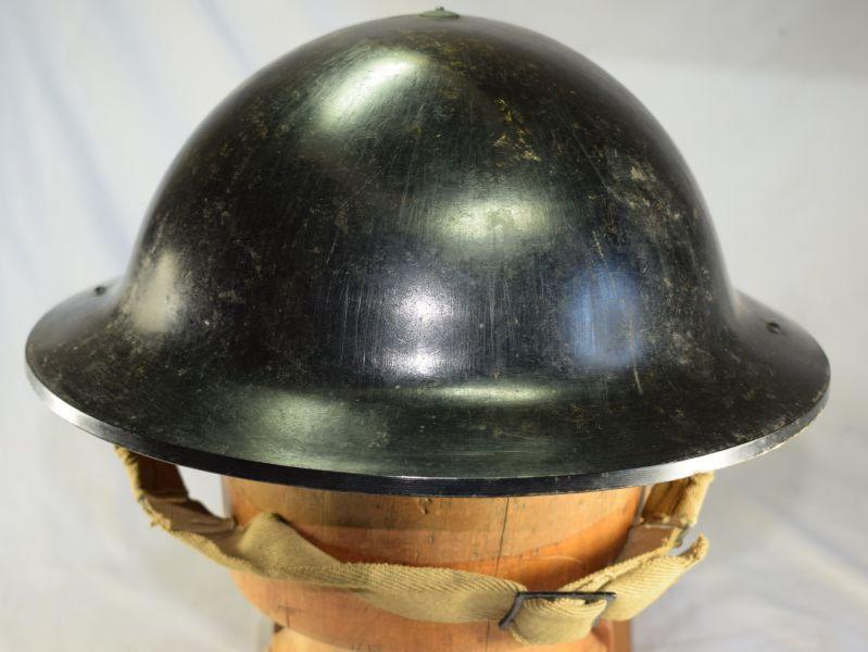 4) Excellent Early WW2 British Bakelite Helmet By Dunn & Co Ltd