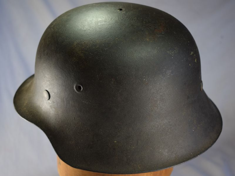 8) Original WW2 German Army M42 Helmet & Liner