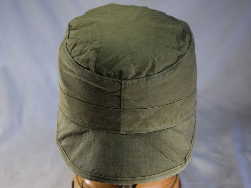 WW2 Patt US M-43 Cap Field Cotton OD With Visor 1948