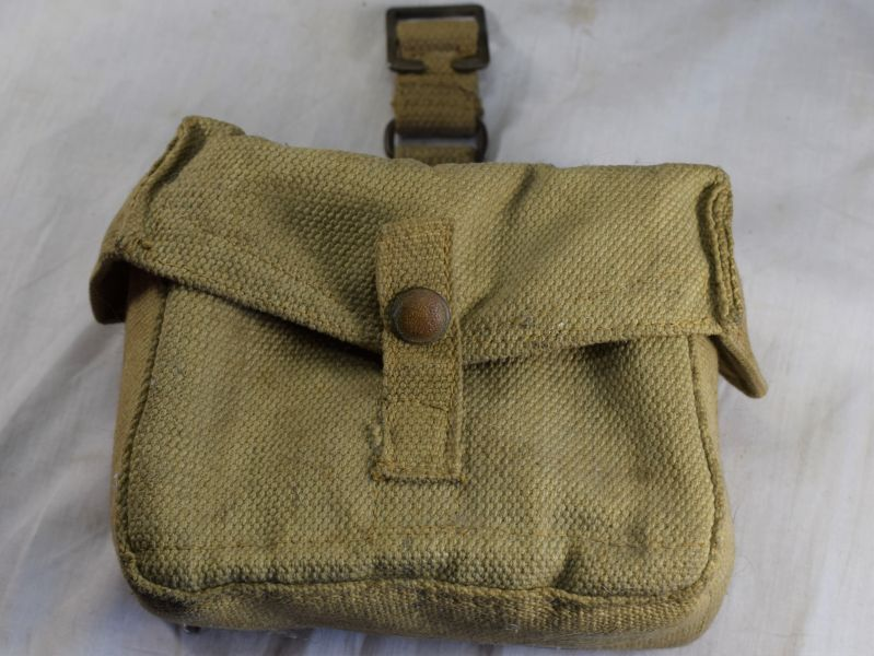Original WW2 Home Guard BAR Mag Web Pouch MW&S Ltd 1942