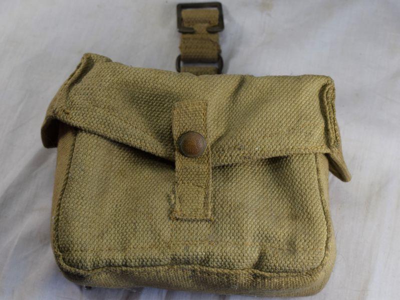 Original WW2 Home Guard BAR Mag Web Pouch MW&S Ltd 1942