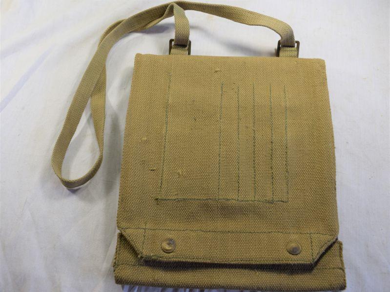 24) Good Clean WW2 British Army Issue Map Case W&G Ltd 1944