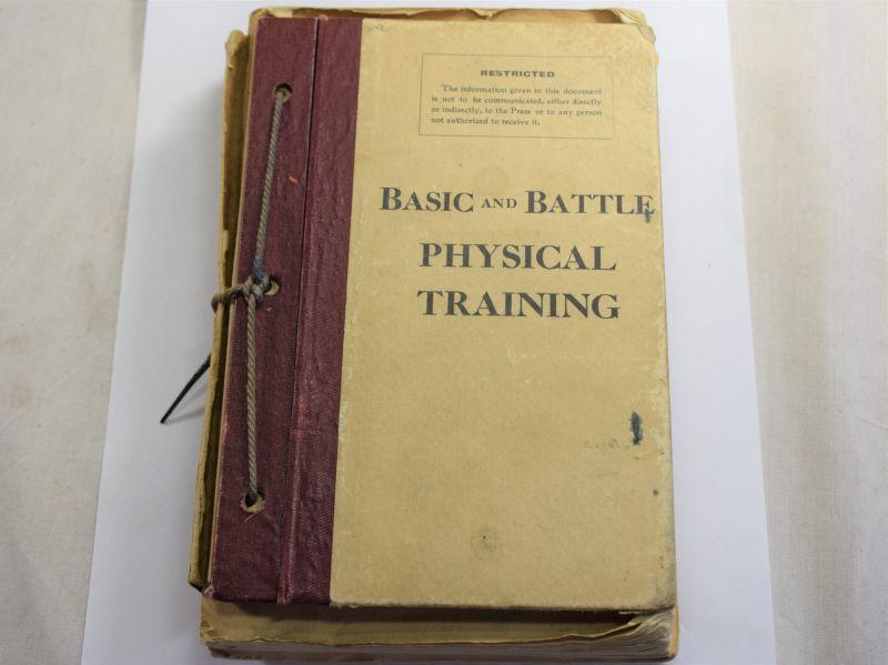 35) Complete WW2 & Post War Basic & Battle Physical Training Pamphlets Set