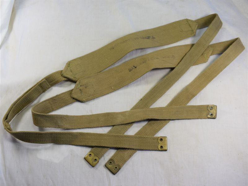 44) Unissued Matching Left & Right 37 Pattern Web Braces Size Long Bagcraft Ltd 1942