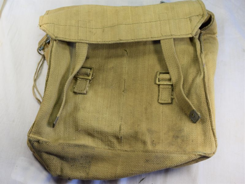 47) WW2 British Army Issue Small Pack S.O.Co 1941