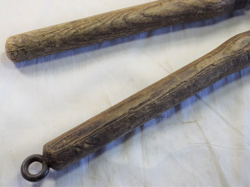 48) WW1 British Army Long Handled Wire Cutters Dated 1916