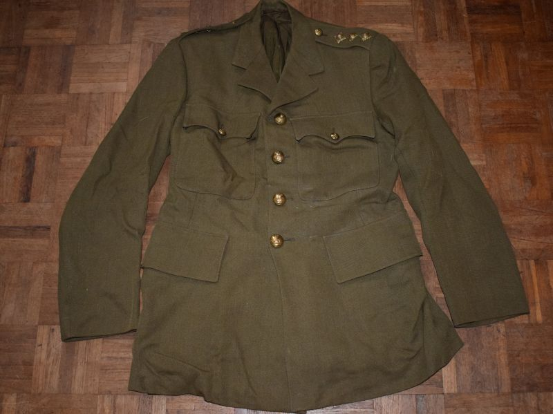 57) WW2 Royal Artillery Officers Service Dress Jacket