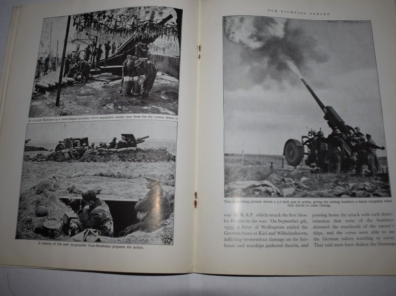 63) Interesting WW2 British Magazine Our Fighting Forces