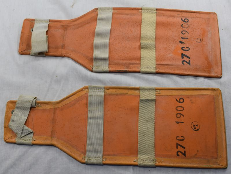 7) Original WW2 RAF Issue Emergency Dinghy Paddles