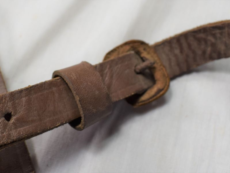 WW1 WW2 British Army Binocular Case Strap Instruments Case Shoulder Strap