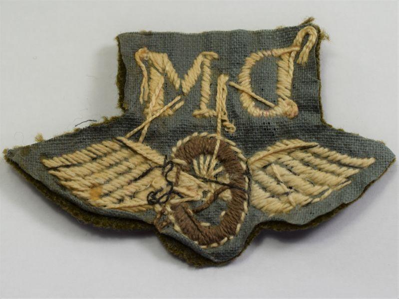 94) Original WW2 British Army Driver Mechanic Cloth Trade badge