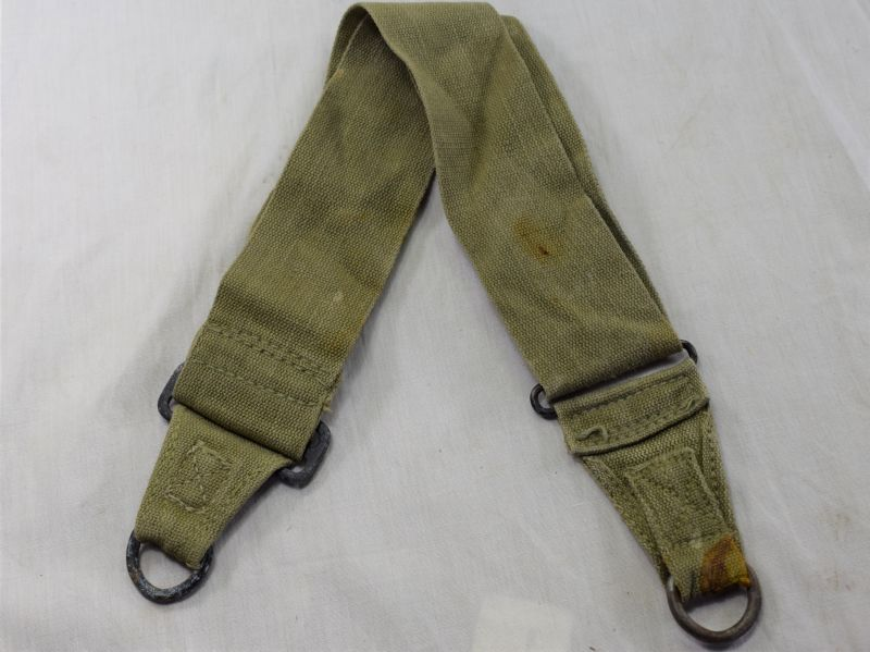 36) Original WW2 US Army Issue M-1936 Musette Bag Strap 1943