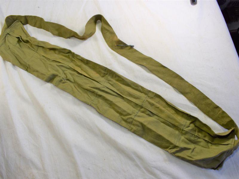 59) Original WW2 US Army Issue 6 Pocket Cloth Bandolier