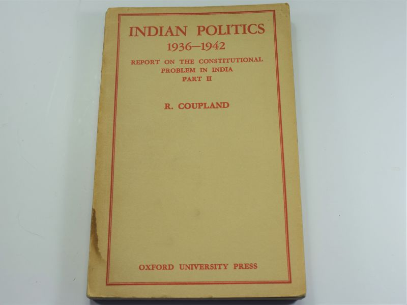 Indian Politics 1936-1942, Report on The Constitutional Problem In India Part II