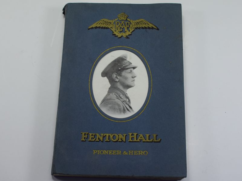 71) Interesting Religious Book Fenton Hall Pioneer & Hero 1941