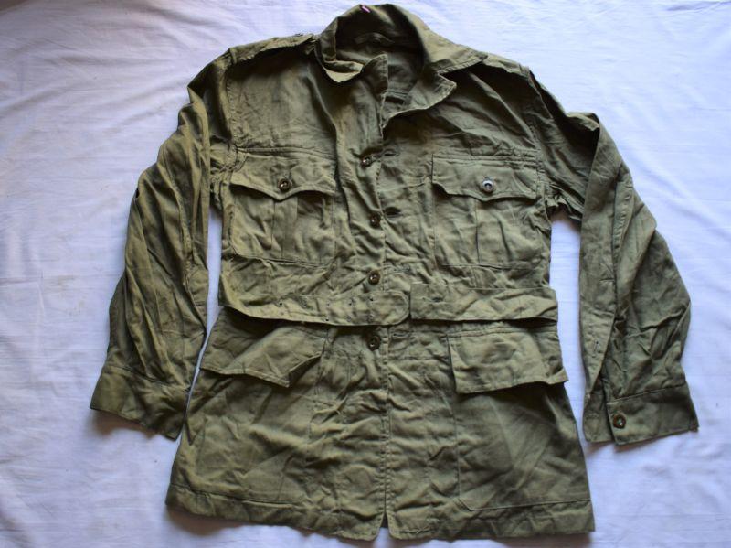 97) Mint Unissued British Army 1950 Pattern JG Bush Jacket 1953