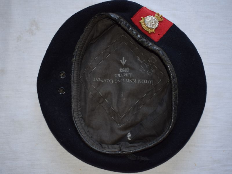 104) British Army Yorkshire Brigade Officers Beret 1953