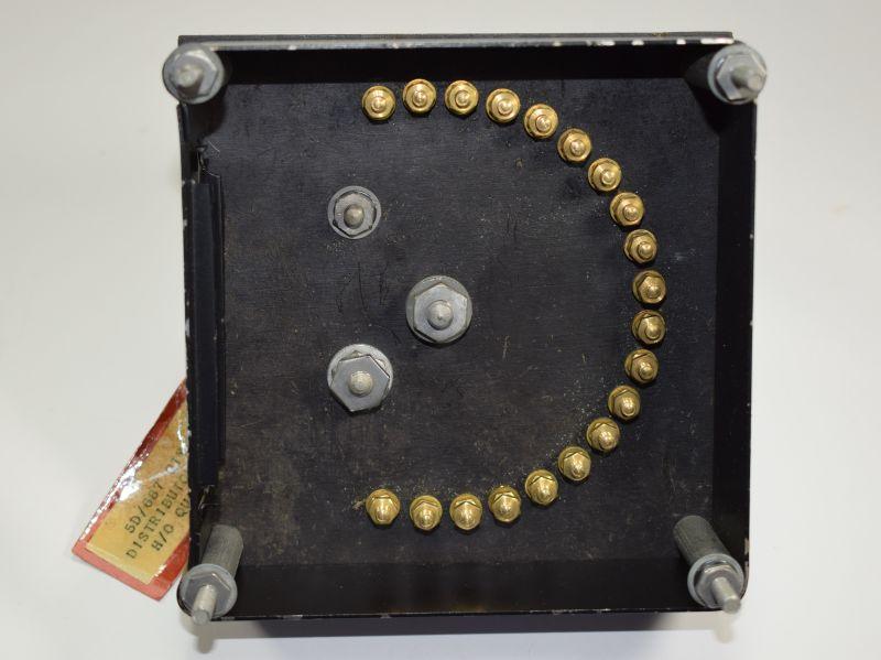 122) Unissued WW2 RAF Bomb Distributor H/O Quadrant AM 5D/687