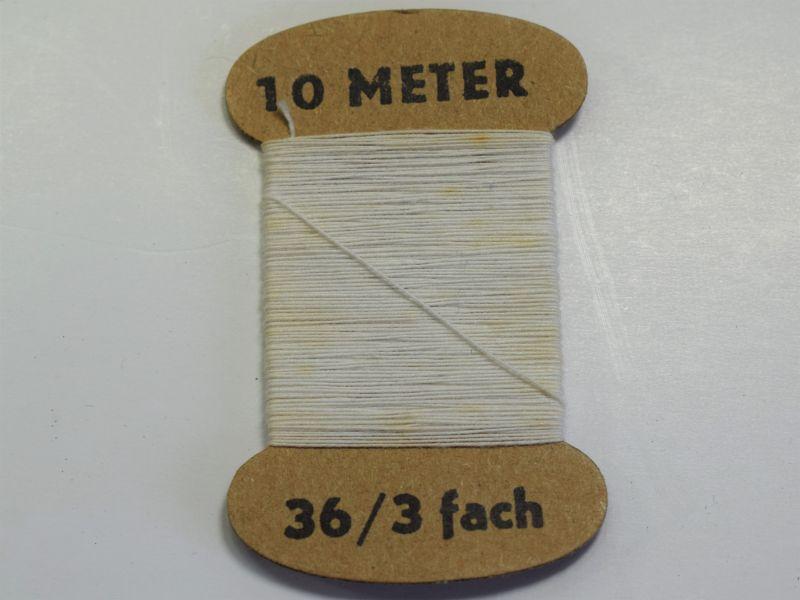 GD5) Original WW2 German Card of White Thread