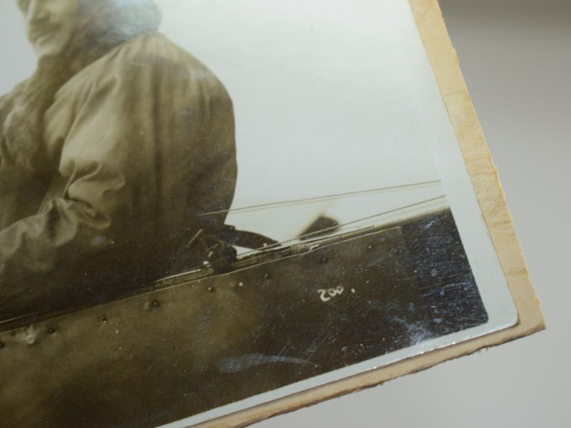 44) Original Pre WW1 Aviator Autographed Photograph Harold Blackburn