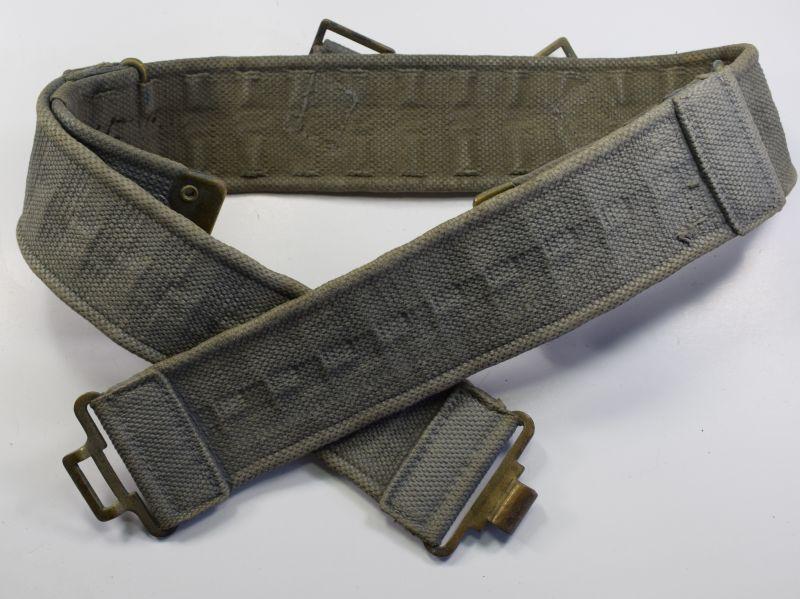 57) Excellent Original RAF 1925 Pattern Webbing Waist Belt 1939