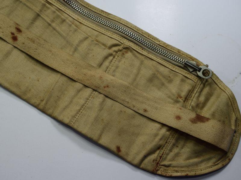 74) WW1 WW2 British Army US Army Waterproof Money Belt
