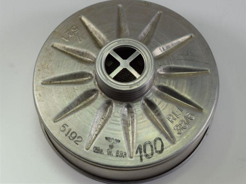 53) Original WW2 German Luftschutz Spare Filter For Gas Mask