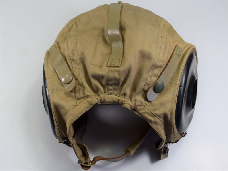 107) Excellent WW2 USAAF Tropical Issue Flying Helmet AN-H-15