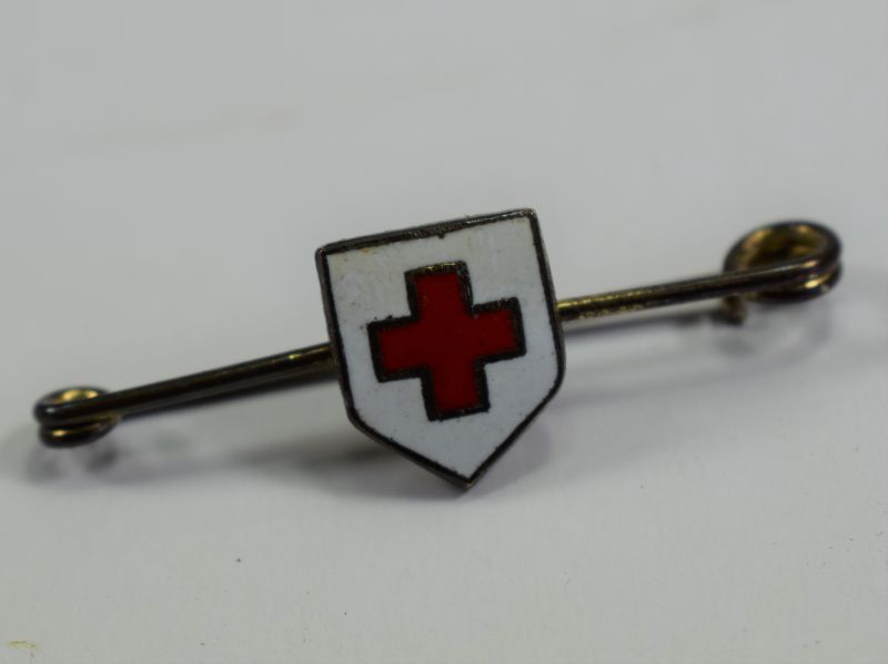 109) Original Small WW1 WW2 BRCS Pin Badge