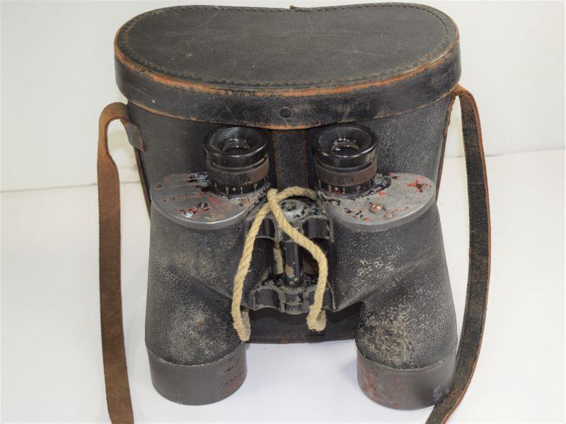 129) WW2 Canadian Made 7X50 Binoculars & Issue Case