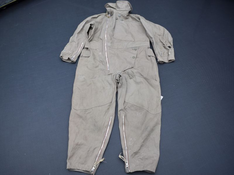 2) Excellent WW2 RAF 1941 Pattern Sidcot Flying Suit Air Ministry Marked