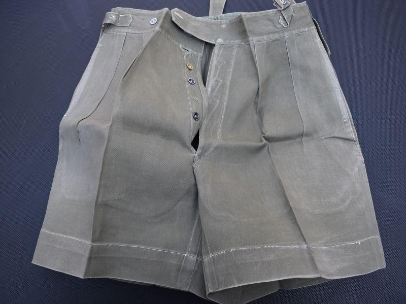 12) Early Post WW2 British Officers JG Shorts Malaya, Korea, Singapore, Hong Kong
