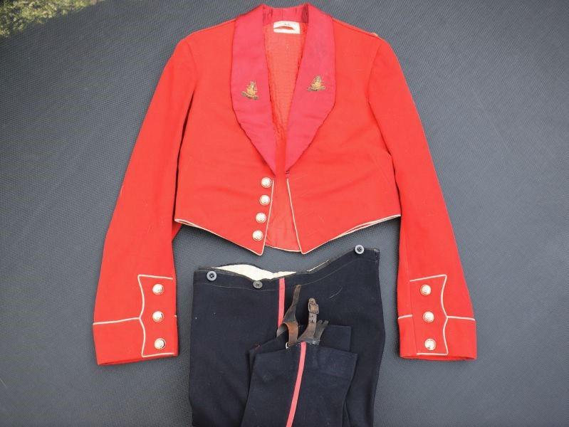 17) Excellent Mess Dress Uniform 1st Duke of Wellingtons Regiment 1938