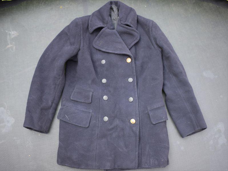22) Original WW2 Royal Navy Officers? Warm Coat Pea Coat
