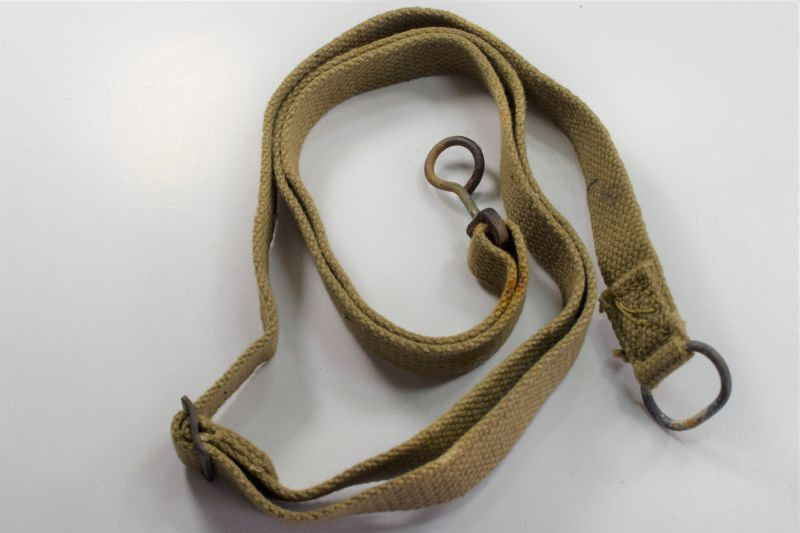 7) Original WW2 British Army Sten Gun Sling 1944