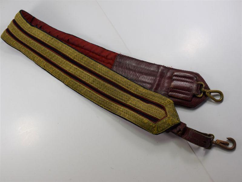 14) Unidentified Ornate British Military Cross Belt