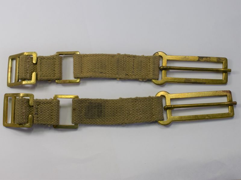 115) Unissued WW2 British Officers Brace Attachments H&S Ltd 1941