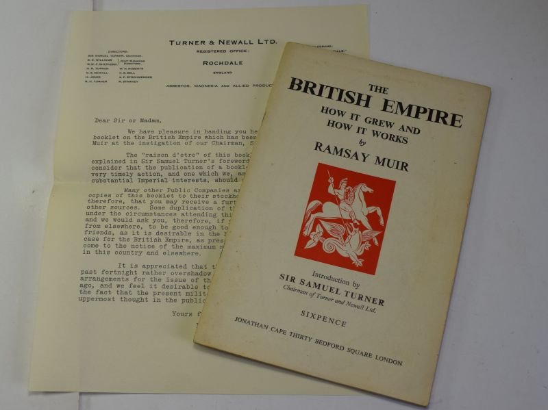 66) Original 1940 Booklet The British Empire How it Grew How it Works