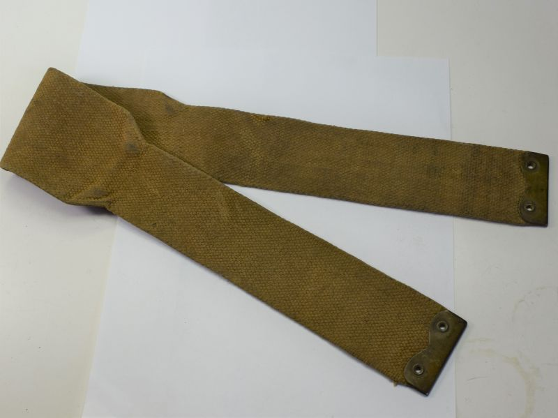 143) Original WW1 Era Lewis Gun Pouch Webbing Shoulder Strap