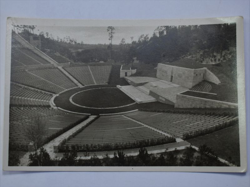 153) Original 1930s German Berlin Olympics Postcard