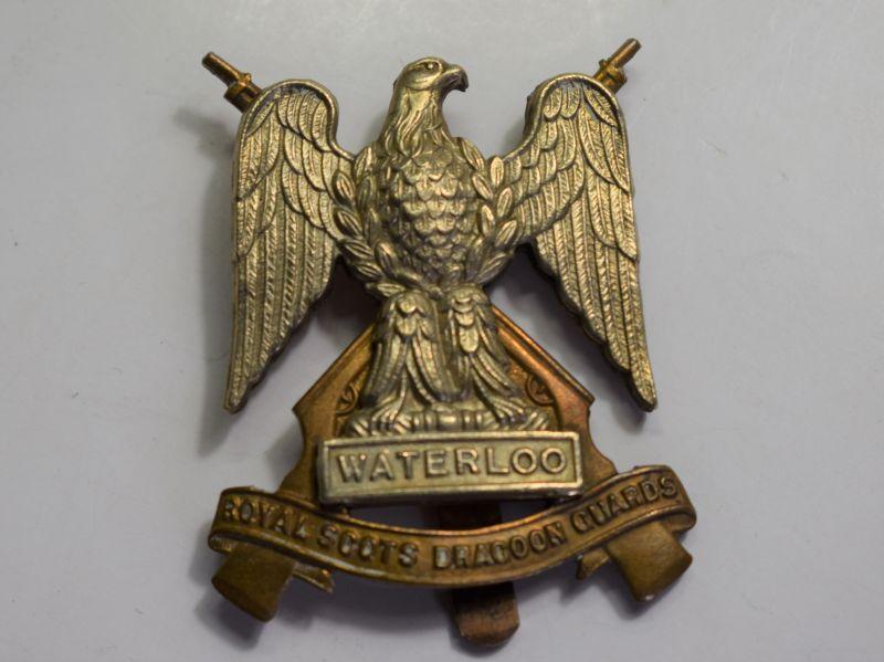 18) Original Royal Scots Dragoon Guards Cap Badge