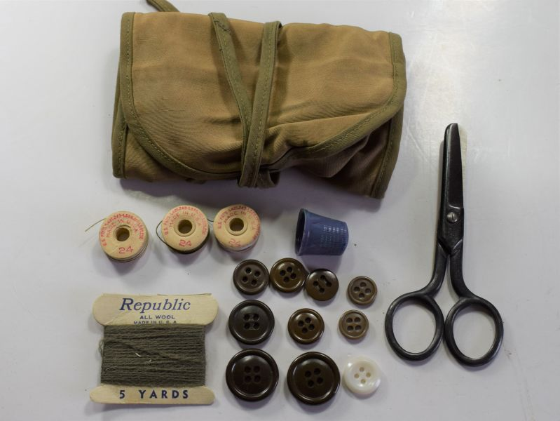 39) Complete Unissued US Army Issue Housewife Sewing Kit