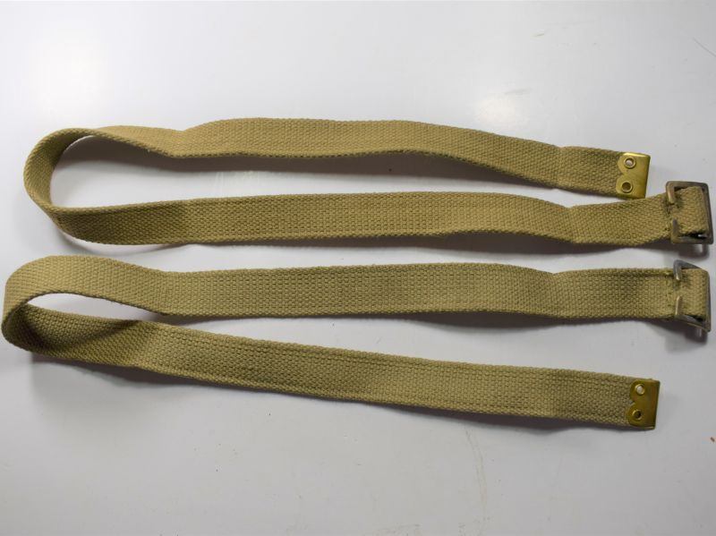 Mint Unissued WW2 British Army Issue Utility Strap Pair