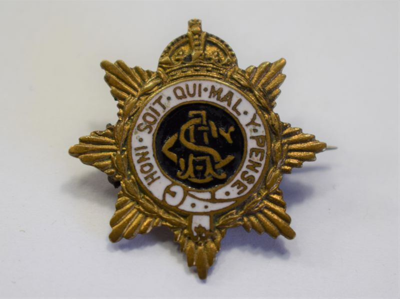 122) Excellent WW2 Army Service Corps Sweetheart Brooch