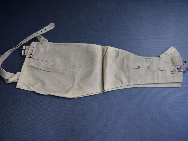 10) Original WW2 British Army Issue DR Waterproof Leggings Size 5, 1941